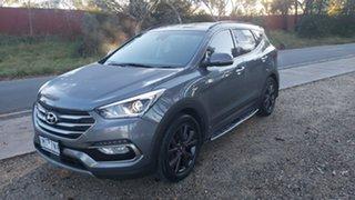 2018 Hyundai Santa Fe DM5 MY18 Active X 2WD Blue 6 Speed Sports Automatic Wagon.