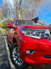 2018 Toyota Landcruiser Prado GDJ150R VX Red 6 Speed Sports Automatic Wagon.