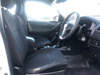 2013 Isuzu D-MAX MY12 LS-Terrain Crew Cab White 5 Speed Manual Utility
