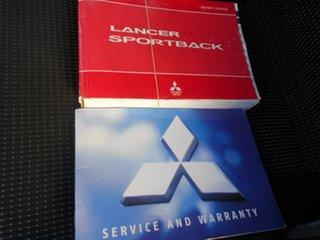 2009 Mitsubishi Lancer CJ MY09 ES Sportback White 5 Speed Manual Hatchback