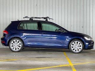 2018 Volkswagen Golf 7.5 MY18 110TSI DSG Highline Blue 7 Speed Sports Automatic Dual Clutch.