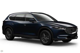 2021 Mazda CX-8 KG2WLA Sport SKYACTIV-Drive FWD Blue 6 Speed Sports Automatic Wagon.
