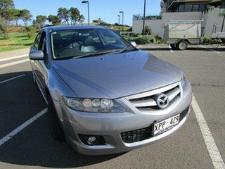 2007 Mazda 6 GG 05 Upgrade Luxury Sports Grey 5 Speed Auto Activematic Hatchback.