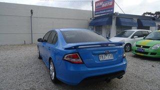 2011 Ford Falcon FG XR6 Blue 6 Speed Sports Automatic Sedan.