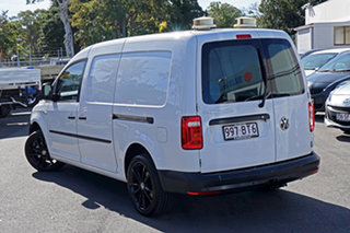 2018 Volkswagen Caddy 2KN MY18 TSI220 Maxi DSG Candy White 7 Speed Sports Automatic Dual Clutch Van.