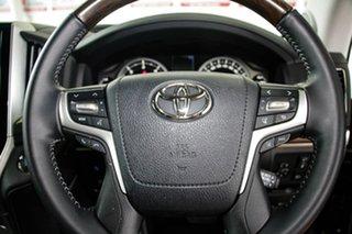 2020 Toyota Landcruiser VDJ200R Sahara Graphite 6 Speed Sports Automatic Wagon