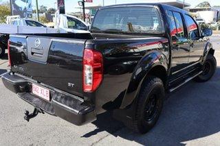 2014 Nissan Navara D40 S7 ST Black 6 Speed Manual Utility.