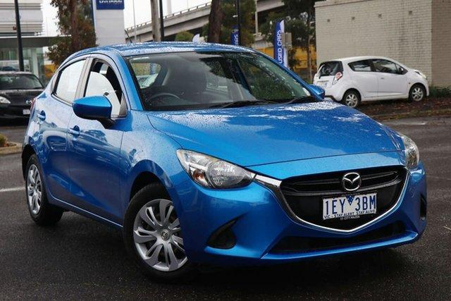 Used Mazda 2 DJ2HAA Neo SKYACTIV-Drive South Melbourne, 2015 Mazda 2 DJ2HAA Neo SKYACTIV-Drive Dynamic Blue 6 Speed Sports Automatic Hatchback