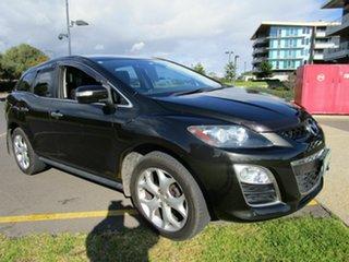 2011 Mazda CX-7 ER MY10 Luxury Sports (4x4) Black 6 Speed Auto Activematic Wagon.