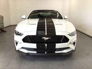 2018 Ford Mustang FN 2019MY GT White 10 Speed Sports Automatic Fastback