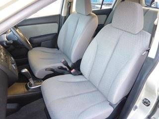 2006 Nissan Tiida C11 ST Alabaster Silver 4 Speed Automatic Hatchback