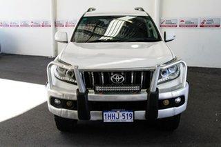 2012 Toyota Landcruiser Prado KDJ150R 11 Upgrade GXL (4x4) Glacier White 5 Speed Sequential Auto.