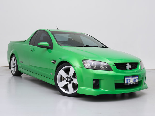 Used Holden Commodore VE SS-V, 2007 Holden Commodore VE SS-V Green 6 Speed Automatic Utility