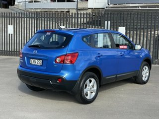 2009 Nissan Dualis J10 MY2009 ST Hatch X-tronic Blue 6 Speed Constant Variable Hatchback