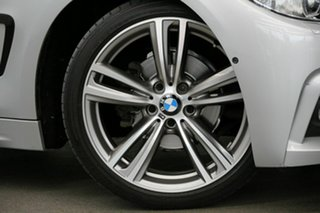 2015 BMW 4 Series F32 420i M Sport Silver 8 Speed Sports Automatic Coupe.