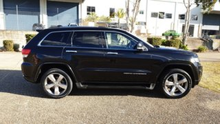 2014 Jeep Grand Cherokee WK MY14 Overland (4x4) Black 8 Speed Automatic Wagon.