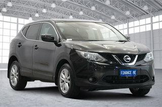 2016 Nissan Qashqai J11 TS Black 1 Speed Constant Variable Wagon.