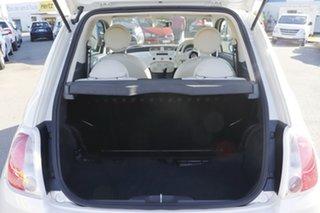 2014 Fiat 500 Series 1 Pop Dualogic Funk White 5 Speed Sports Automatic Single Clutch Hatchback