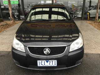 2010 Holden Epica EP MY10 CDX Black 6 Speed Automatic Sedan.