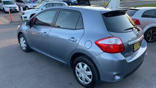 2012 Toyota Corolla ZRE152R MY11 Ascent Silver 4 Speed Automatic Hatchback.