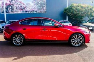 2021 Mazda 3 BP2S7A G20 SKYACTIV-Drive Evolve Red 6 Speed Sports Automatic Sedan