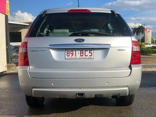 2004 Ford Territory SX Ghia Silver 4 Speed Sports Automatic Wagon