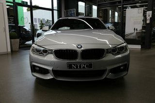 2015 BMW 4 Series F32 420i M Sport Silver 8 Speed Sports Automatic Coupe