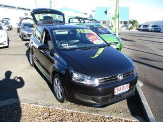 2010 Volkswagen Polo Comfortline Black 4 Speed Automatic Hatchback.