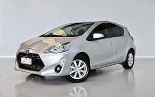 2017 Toyota Prius c NHP10R E-CVT Silver 1 Speed Constant Variable Hatchback Hybrid.