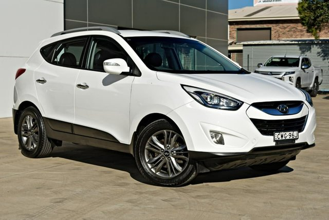 Used Hyundai ix35 LM3 MY14 Elite Tuggerah, 2014 Hyundai ix35 LM3 MY14 Elite White 6 Speed Sports Automatic Wagon