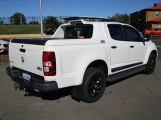 2016 Holden Colorado RG MY17 Z71 White 6 Speed Automatic Dual Cab