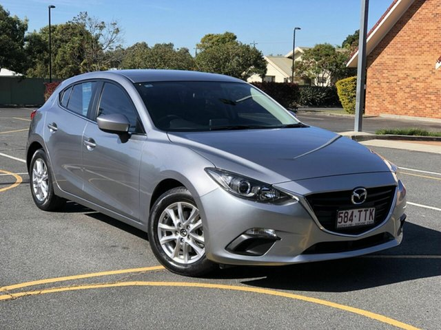 Used Mazda 3 BM5478 Maxx SKYACTIV-Drive Chermside, 2014 Mazda 3 BM5478 Maxx SKYACTIV-Drive Grey 6 Speed Sports Automatic Hatchback