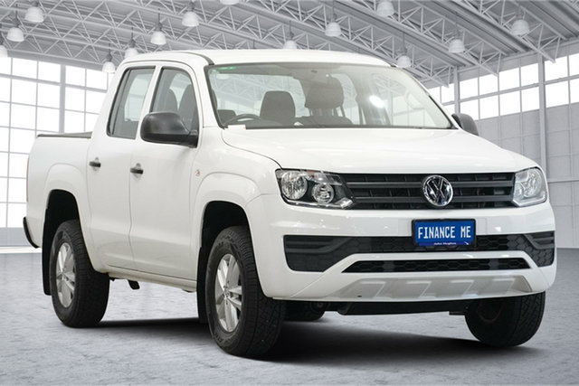 Used Volkswagen Amarok 2H MY17 TDI420 4MOTION Perm Core Victoria Park, 2017 Volkswagen Amarok 2H MY17 TDI420 4MOTION Perm Core Candy White 8 Speed Automatic Utility
