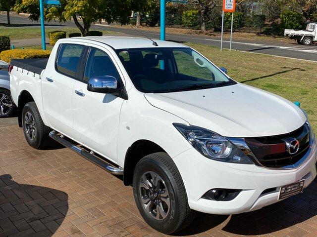 Used Mazda BT-50 MY16 XTR Hi-Rider (4x2) Toowoomba, 2017 Mazda BT-50 MY16 XTR Hi-Rider (4x2) White 6 Speed Automatic Dual Cab Utility