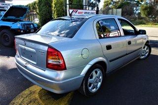 2001 Holden Astra TS CD Silver 4 Speed Automatic Sedan.