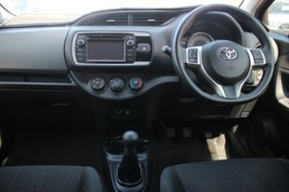 2015 Toyota Yaris NCP130R Ascent Cherry 5 Speed Manual Hatchback