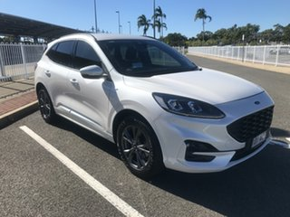 2020 Ford Escape ZH 2020.75MY ST-Line White Platinum 8 Speed Sports Automatic SUV.