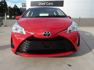 2020 Toyota Yaris NCP130R Ascent Cherry 4 Speed Automatic Hatchback.