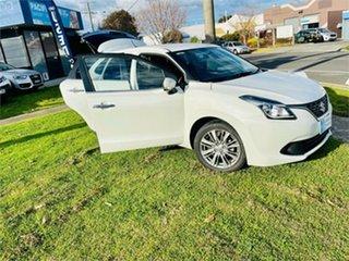 2016 Suzuki Baleno GL (Qld) White 4 Speed Automatic Hatchback