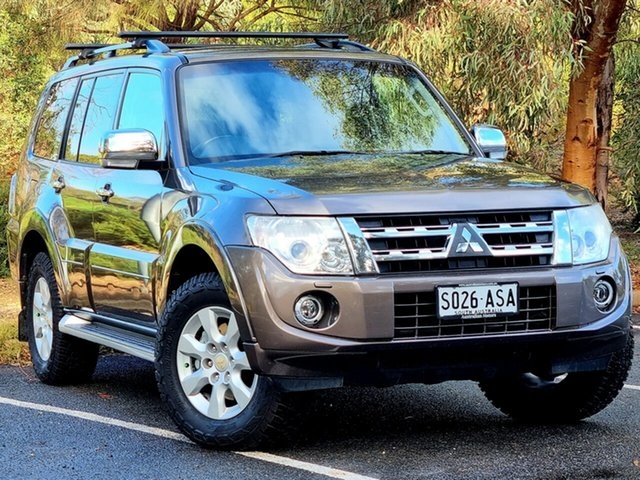Used Mitsubishi Pajero NW MY12 Platinum Morphett Vale, 2012 Mitsubishi Pajero NW MY12 Platinum Ironbark 5 Speed Sports Automatic Wagon