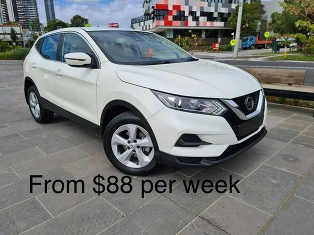 Used Nissan Qashqai J11 Series 2 ST X-tronic South Melbourne, 2019 Nissan Qashqai J11 Series 2 ST X-tronic White 1 Speed Constant Variable Wagon