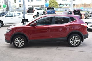 2014 Nissan Qashqai J11 ST Red 1 Speed Constant Variable Wagon.