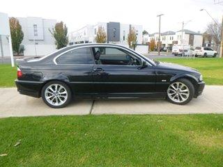 2001 BMW 325Ci E46 325Ci Black Sports Automatic Coupe.