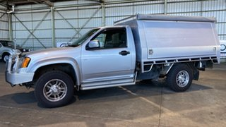 2008 Holden Colorado RC LX 4x2 Silver 5 Speed Manual Cab Chassis.