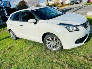 2016 Suzuki Baleno GL (Qld) White 4 Speed Automatic Hatchback.