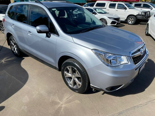 Used Subaru Forester MY14 2.5I-L Toowoomba, 2015 Subaru Forester MY14 2.5I-L Silver Continuous Variable Wagon