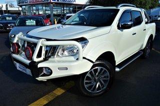 2016 Nissan Navara D23 S2 ST-X White 7 Speed Sports Automatic Utility.
