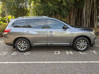 2016 Nissan Pathfinder R52 MY16 ST-L X-tronic 2WD Grey 1 Speed Constant Variable Wagon.