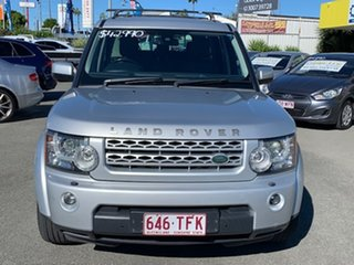 2013 Land Rover Discovery 4 Series 4 L319 MY13 TDV6 Silver 8 Speed Sports Automatic Wagon.