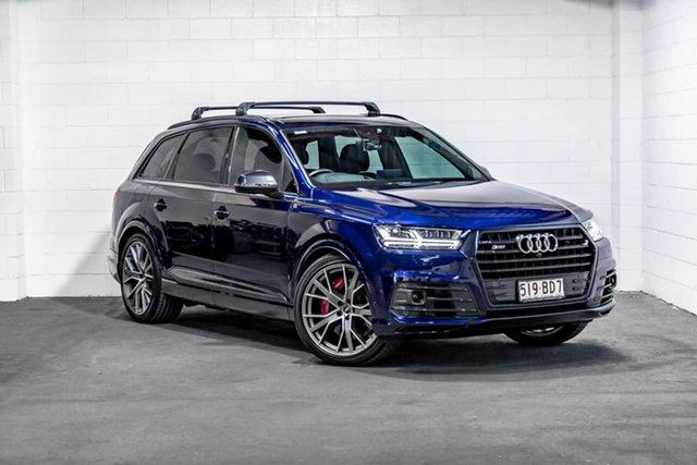 Used Audi SQ7 4M MY19 TDI Tiptronic Southport, 2019 Audi SQ7 4M MY19 TDI Tiptronic Blue 8 Speed Sports Automatic Wagon